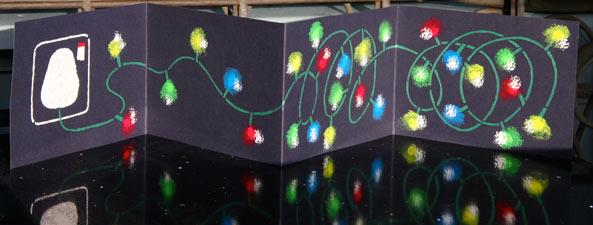 Untangling the Christmas Lights - Christmas 2008