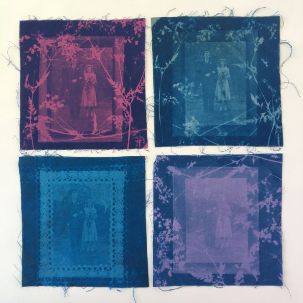Experimenting With Cyanotypes