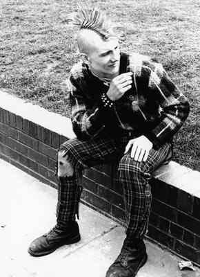 Punks circa. 1980