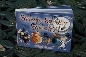 Spooky Spooky Spooky - board book