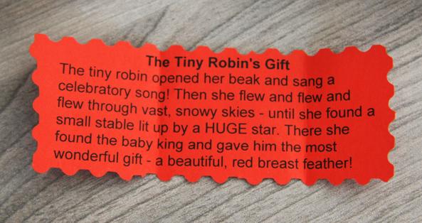 The Tiny Robin - Christmas 2015